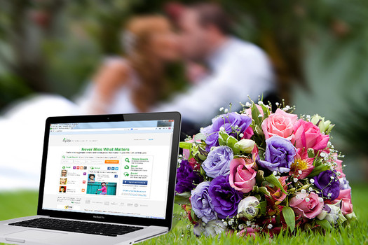 Planning your wedding online
